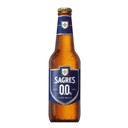 Picture of Cerveja SAGRES Branca S/Álcool 0.0% 33cl