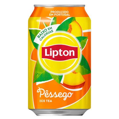 Picture of Ice Tea LIPTON Pêssego Lata 33cl