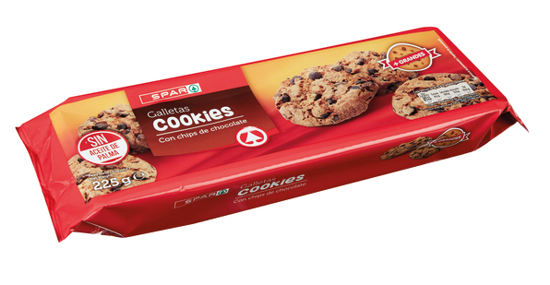 Picture of Bolacha SPAR Cookies Choc Preto 225gr