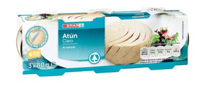 Picture of Atum SPAR Claro Natural 3x80gr