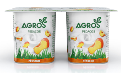 Picture of Iog AGROS Pedaços Pêssego 120gr