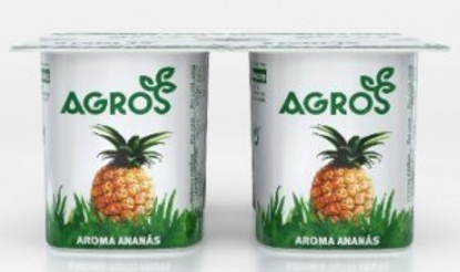 Imagem de Iog AGROS Aroma Ananas 120gr
