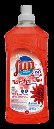 Picture of Det FUN Lava Tudo Flor Vermelhas 1,5lt
