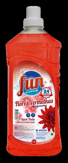 Imagem de Det FUN Lava Tudo Flor Vermelhas 1,5lt