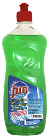 Picture of Det Loica FUN Liq Conc Verde 1lt
