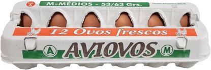 Imagem de Ovos AVIOVOS Classe M 1 dz