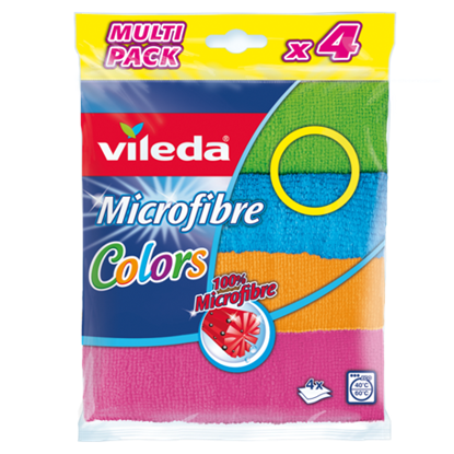 Picture of Pano VILEDA Microfibras Colors 4un