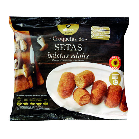 Picture of Croquetes ALTEZA Cogumelos 350gr