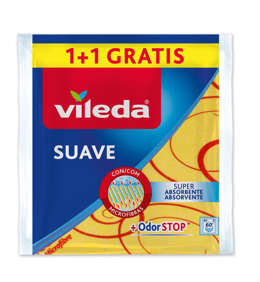Picture of Pano VILEDA Suave 1+1 Grátis un