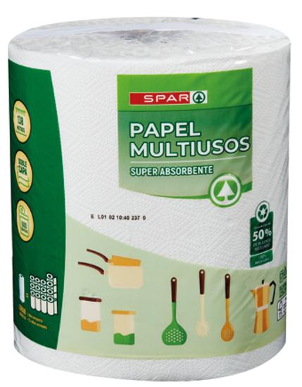 Picture of Rolo Cozinha SPAR Multiusos Jumbo 138mt un