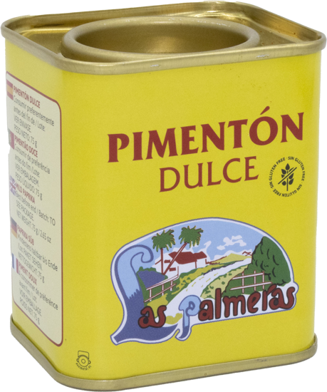 Picture of Pimentao Doce LAS PALMERAS 75gr