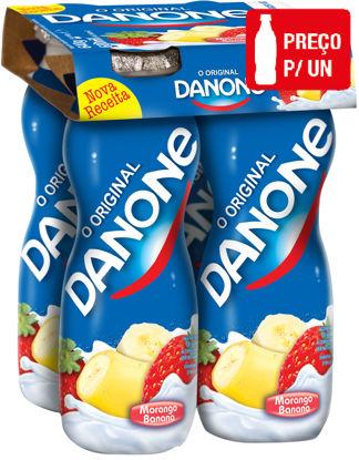 Picture of Iog DANONE Líquido Morango Banana 155g