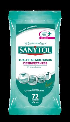 Picture of Toalhitas SANYTOL Multiusos Des 36un