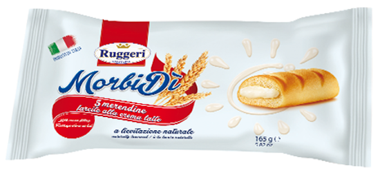 Picture of Bolo Travesseiro RUGGERI Rech Creme 165gr