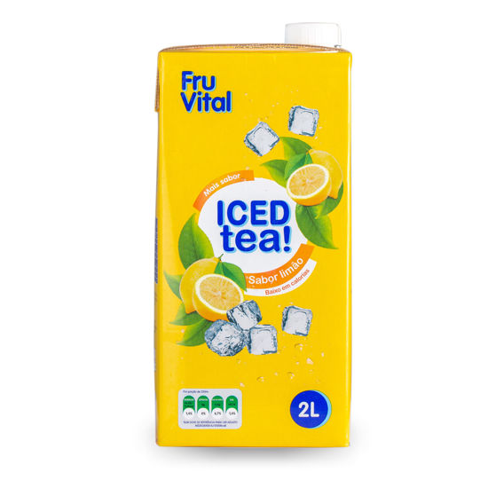 Picture of Ice Tea FRUVITAL Limao 2lt