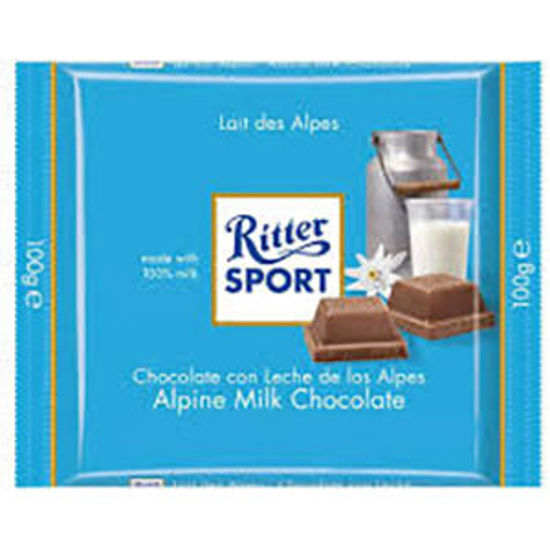 Picture of Choc RITTER SPORT Leite 100gr