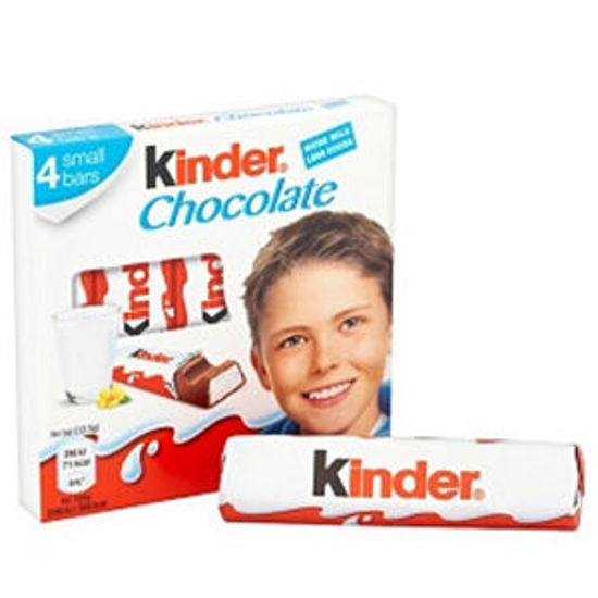 Picture of Choc KINDER Barritas T/4 50gr