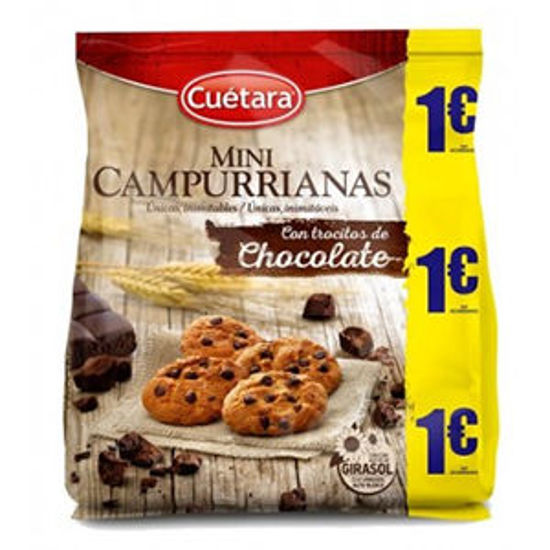 Picture of Bolacha CAMPURRIANAS Choco Mini 145gr