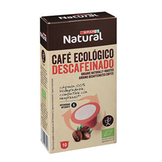 Picture of Cafe SPAR Caps Bio Comp Descaf 10x5gr