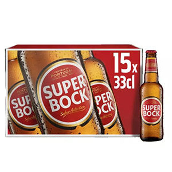 Picture of Cerveja SUPER BOCK Branca 15x0,33lt