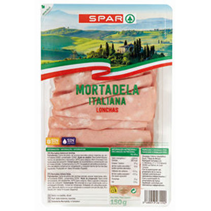 Picture of Mortadela SPAR Fat Finas Italia 150gr