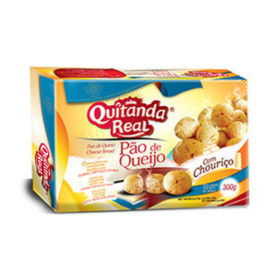 Picture of Pao Queijo QUITANDA REAL Chourico 300gr