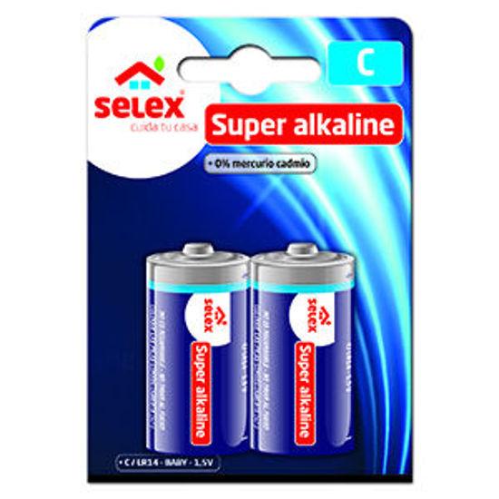 Picture of Pilhas SELEX Alcalinas LR14 2un
