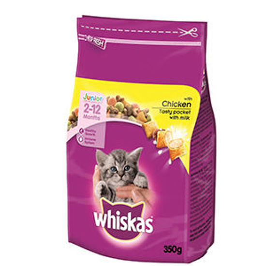 Picture of Alim Gato WHISKAS Junior Galinha 350gr