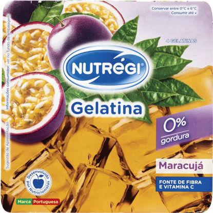 Imagem de Gelatina NUTREGI Maracujá 4x100gr