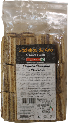 Picture of Bolacha SPAR Baunilha/Chocolate 400gr