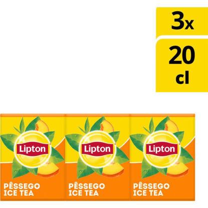 Imagem de Ice Tea LIPTON Pêssego Prisma 3x200ml
