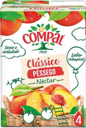 Imagem de Néctar COMPAL Clássico Pess Tetra 200ml
