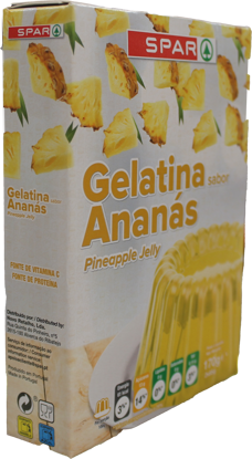 Picture of Gelatina SPAR Ananas 2x85gr