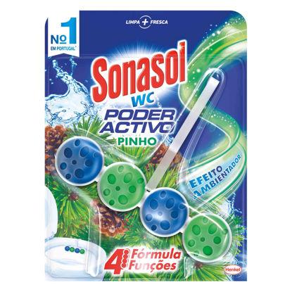 Imagem de Bloco Sanit SONASOL WC Poderactivo Pinho 50gr