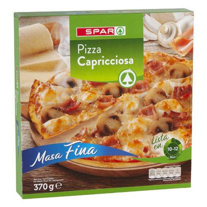Picture of Pizza SPAR Congelada Capricciosa 370gr