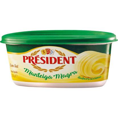Picture of Manteiga PRESIDENT Magra Meio Sal 250gr